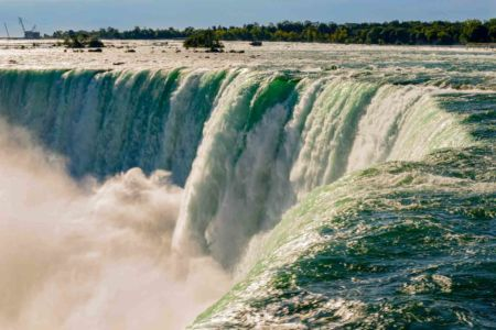 Gérard Besse, chutes du Niagara