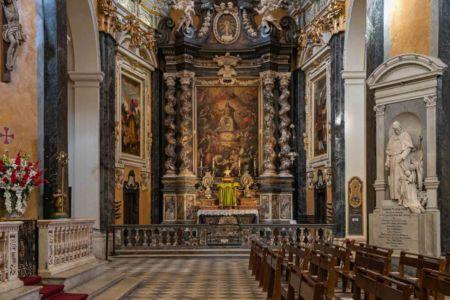 Nice, cathédrale sainte Réparate