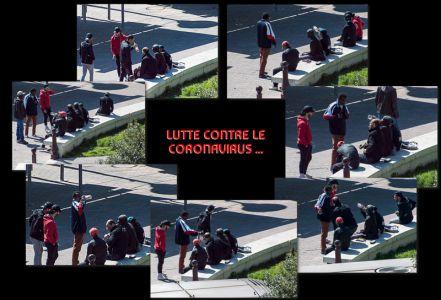 Nicole Bessis - Vu De Ma Fenetre 3 - Lutte Contre Le Coronavirus 2020-04-14