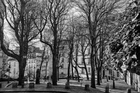 Gérard Besse, Paris, Montmartre