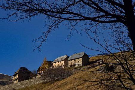 Michel Gérard, Saint-Dalmas-le-Selvage, hameau de Bouzeyas