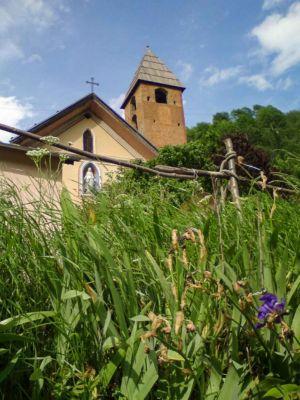 Michèle Brignone, Saint-Etienne-de-Tinée, hameau de la Blache