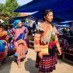 Marché de Thac Ba, Nord Vietnam