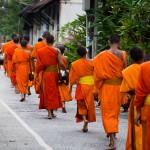 Rera des moines, Luang Prabang, Laos